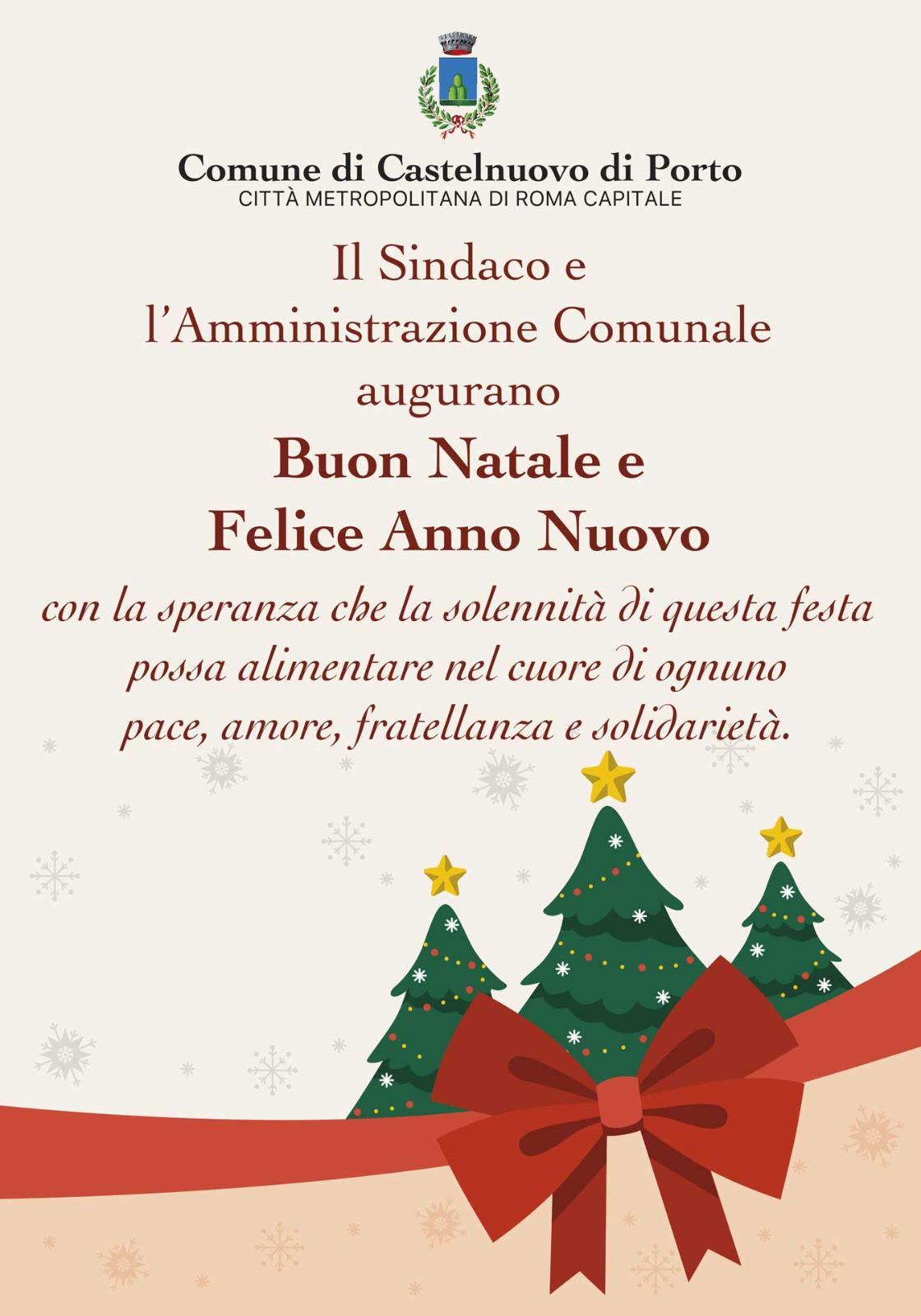 Auguri Di Buon Natale E Buon Anno.Auguri Di Buon Natale E Felice Anno Nuovo